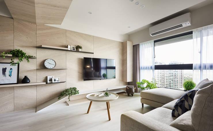 غرفة المعيشة تنفيذ 思維空間設計