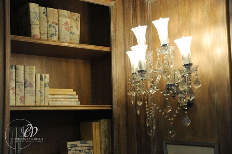 Projekty,  Salon zaprojektowane przez Emanuela Volpicelli Interior Designer