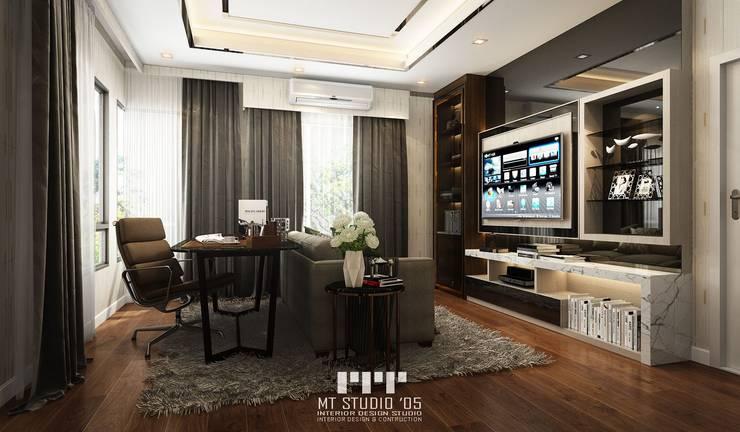 โครงการ เศรษฐสิริ ปิ่นเกล้า – กาญจนาฯ ตกแต่งด้วยงานสไตล์ Modern Luxury:   by MT STUDIO 05 CO.,LTD.