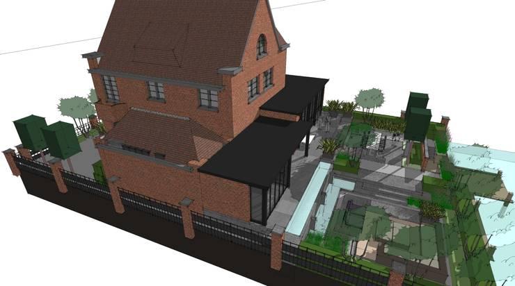 3D Stadstuin, Amsterdam.:  Tuin door Studio-B-Gardens