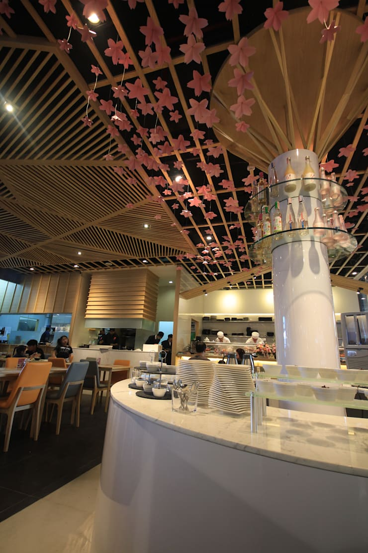 Neta fish and meat @ the jas srinakarin:  ตกแต่งภายใน by  good space  plus interiror- architect co.,ltd