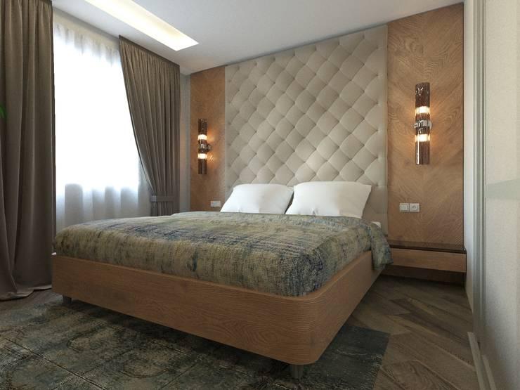 غرفة نوم تنفيذ blackcat design
