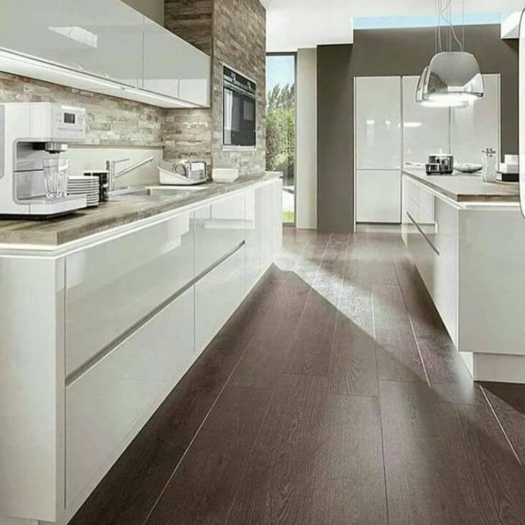 Blue Home  – Modern Mutfak: modern tarz , Modern Ahşap Ahşap rengi