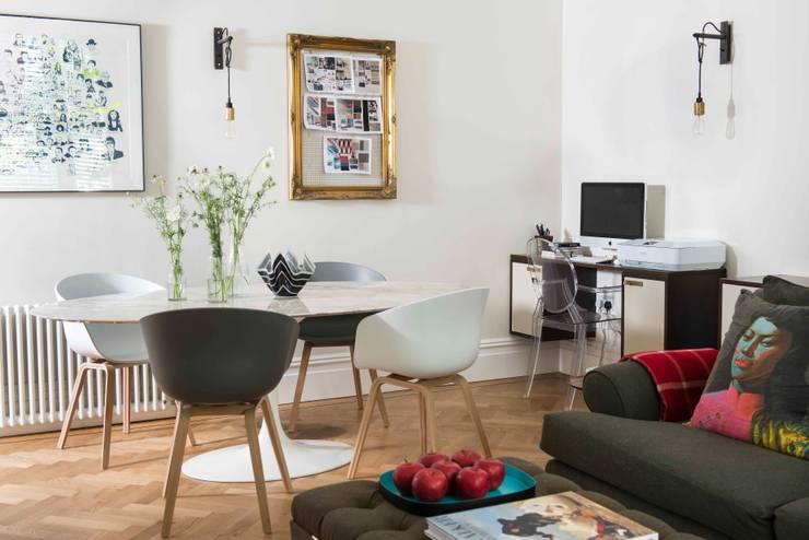 de estilo  por SWM Interiors & Sourcing Ltd, Moderno Mármol