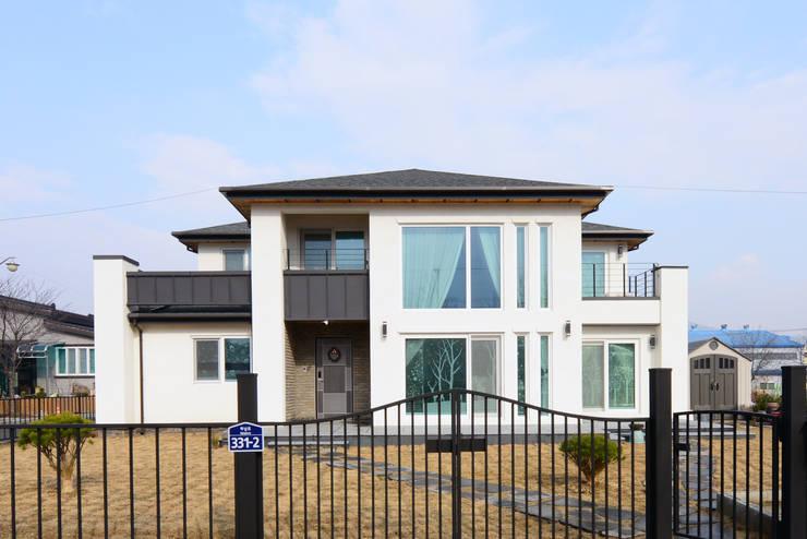 경산 산양리: 코원하우스의  주택