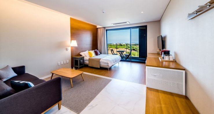 2층 객실: SG international의  침실,모던