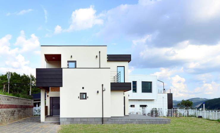 안동 계평리: 코원하우스의  주택