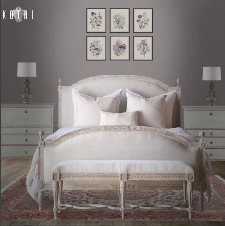 VISUALIZED PROJECTS:  Bedroom by Devyani Kumari Lifestyle & Designs