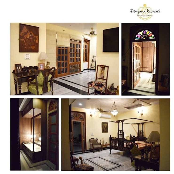 PROJECTS DELIVERED BY KOTRI:  Corridor & hallway by Devyani Kumari Lifestyle & Designs