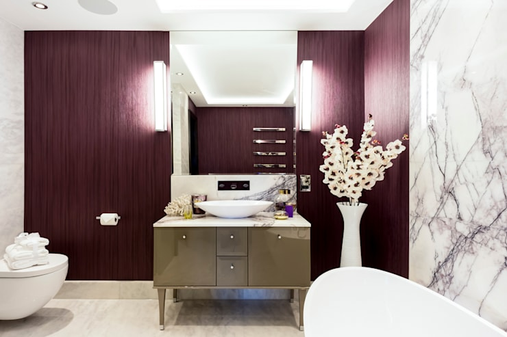 Bathroom by GOAStudio | London residential architecture