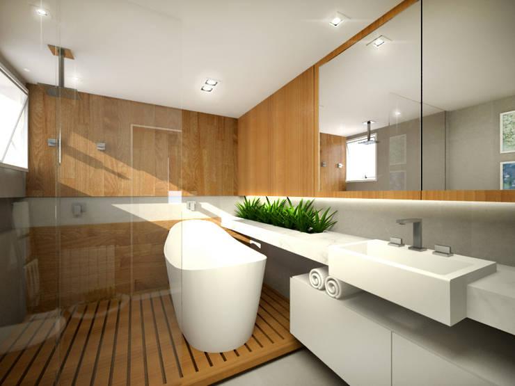 Bathroom by ecco! archi sudio