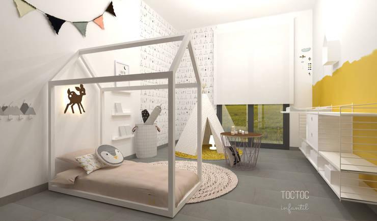 Habitaciones infantiles de estilo  por TocToc
