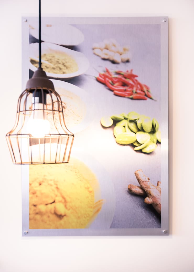 Foodstyling en fotografie voor beelden in het restaurant.:  Gastronomie door Ien Interieurontwerp Advies Projectbegeleiding