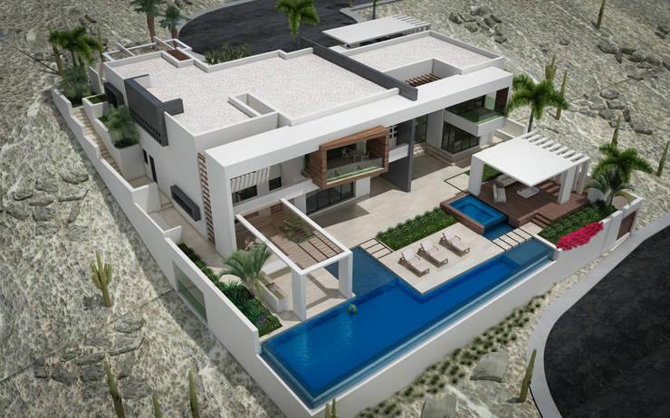 Modern houses by arquitectura GOSSELIN Modern