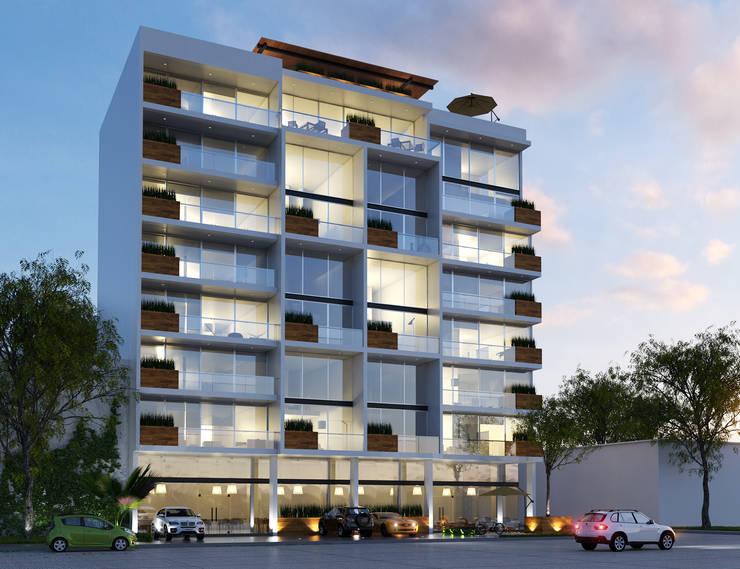 SYNTAGMA HABITACIONAL: Casas de estilo  por Entorno Arquitectura