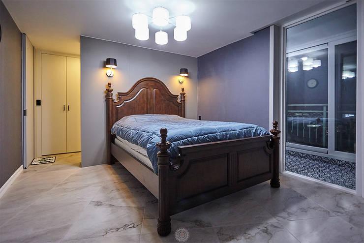 غرفة نوم تنفيذ 제이앤예림design