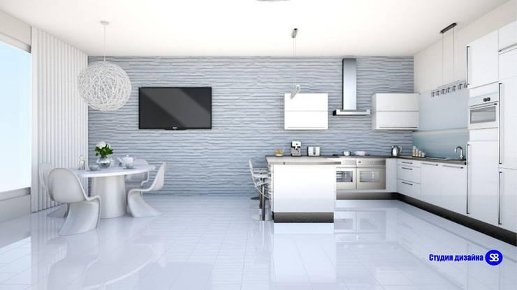 Hi-Tech Living Room:  Living room by 'Design studio S-8'