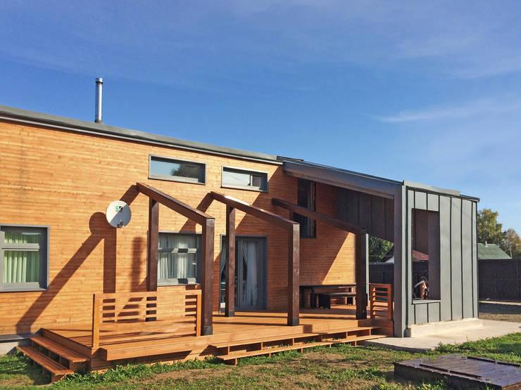 minimalistic Houses by НБ_Частный Девелопмент