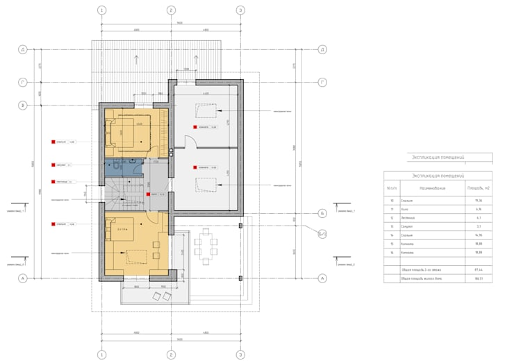 План 2-ого этажа:  в . Автор – НБ_Частный Девелопмент
