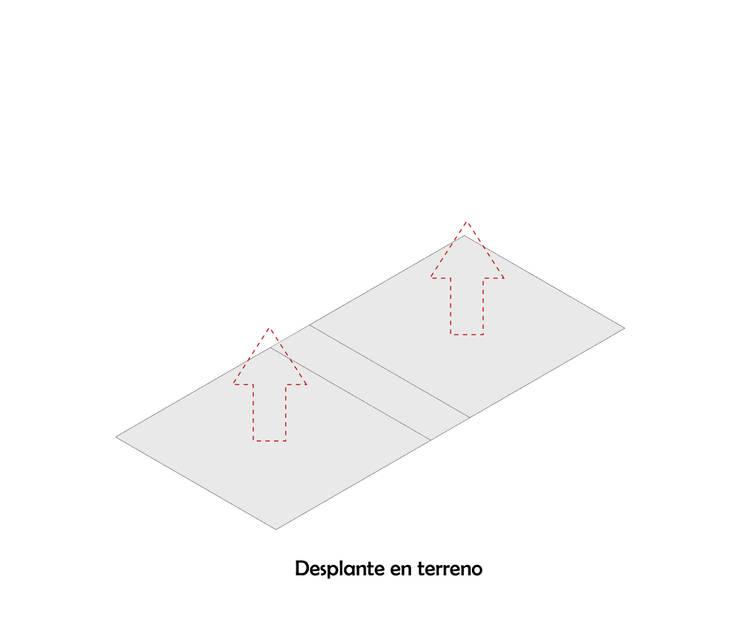 Diagrama 1: Casas de estilo  por HMJ Arquitectura, Minimalista