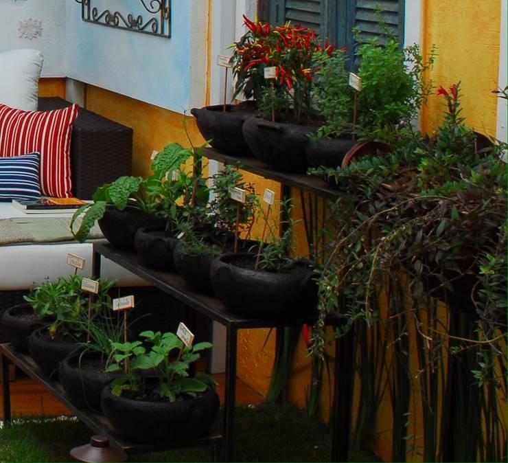 Binnenbeplanting door Adriana Baccari Projetos de Interiores