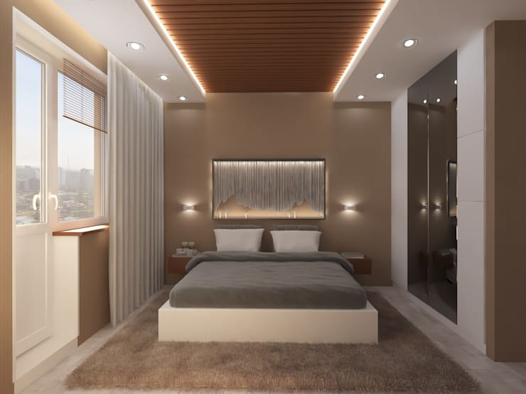 Bedroom by Anastasia Yakovleva design studio