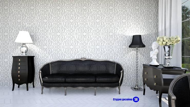 Bedroom in art-deco style:  Bedroom by 'Design studio S-8'