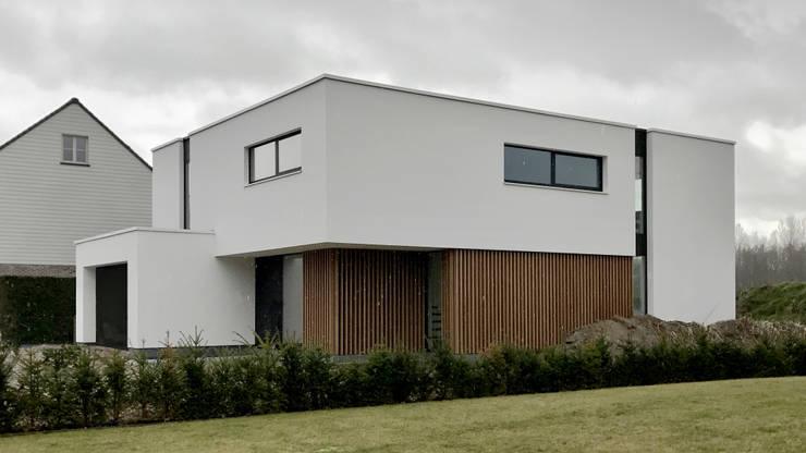 Huizen door Niko Wauters architecten bvba