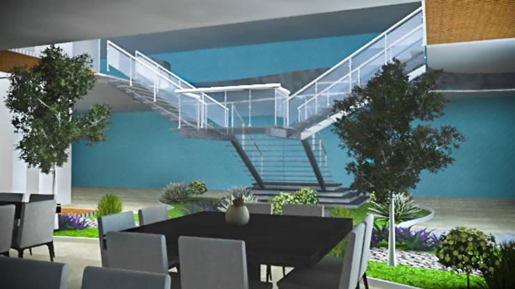 Hotel en Margarita: Restaurantes de estilo  por Arq. Gustavo García