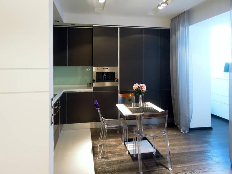 Кухня-столовая квартиры молодого человека: Кухни в . Автор – Станислав Старых