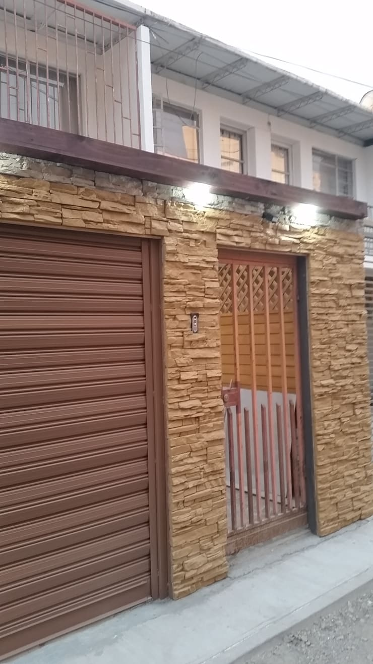INSTALACION BARRA DE ILUMINACION:  de estilo  por Mettox construcciones