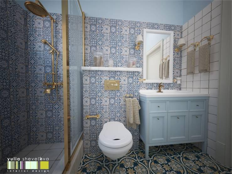 Bathroom by Мастерская интерьера Юлии Шевелевой