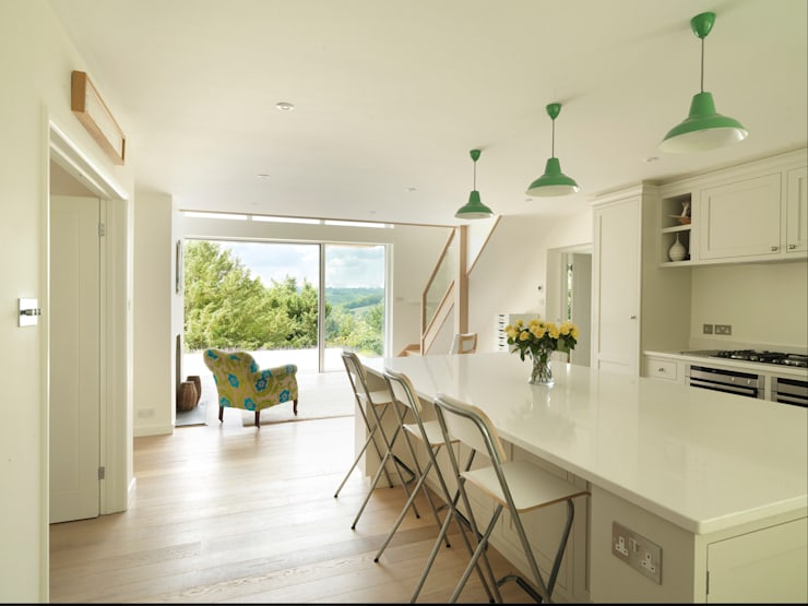 The Leys:  Dining room by Austin Design Works