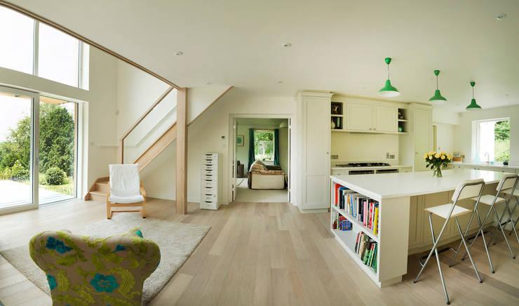 The Leys:  Living room by Austin Design Works