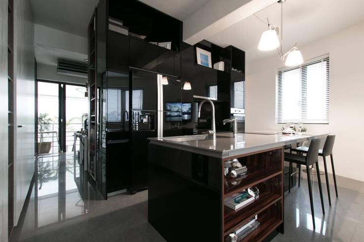 璞碩室內裝修設計工程有限公司が手掛けたキッチン