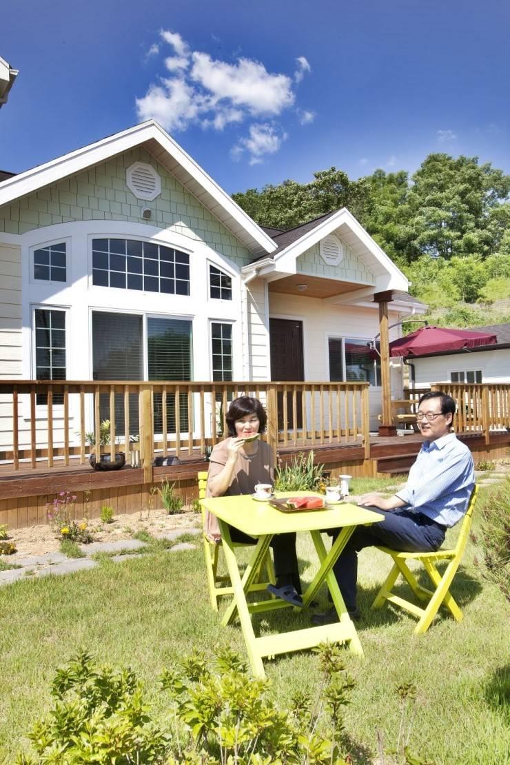충주 주덕 : Goodhaus의  주택