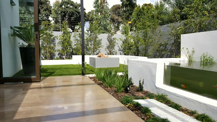 HOUSE 2:  Garden by Greenacres Cape landscaping