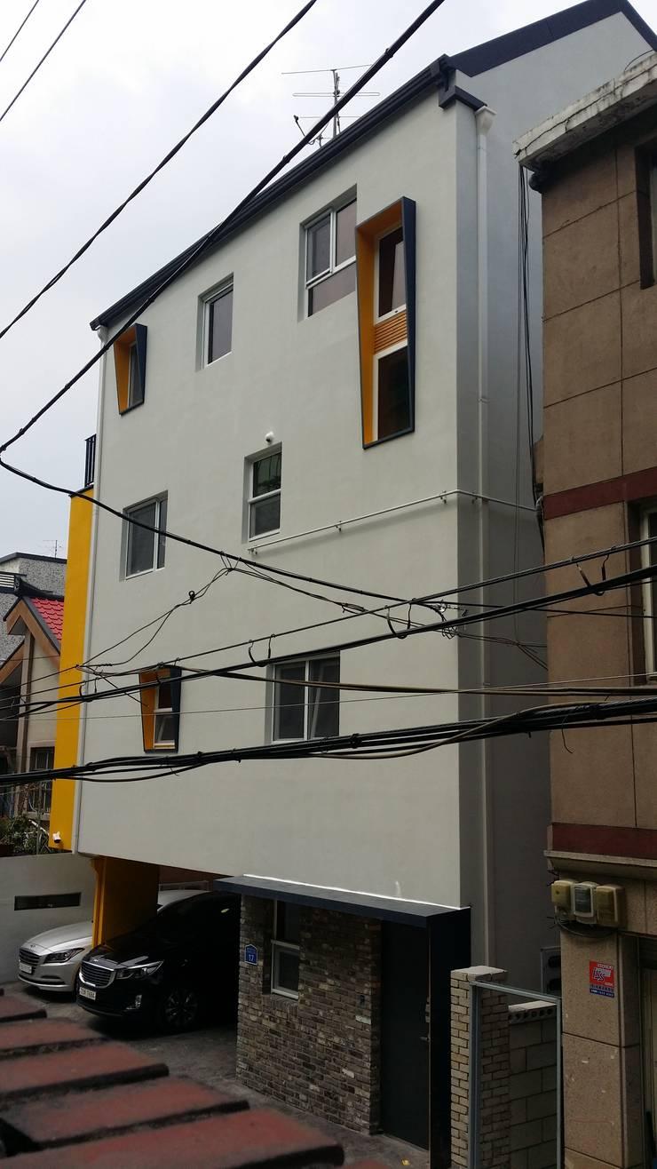마음담음건축 프로젝트: 마음담은 건축의  주택,모던