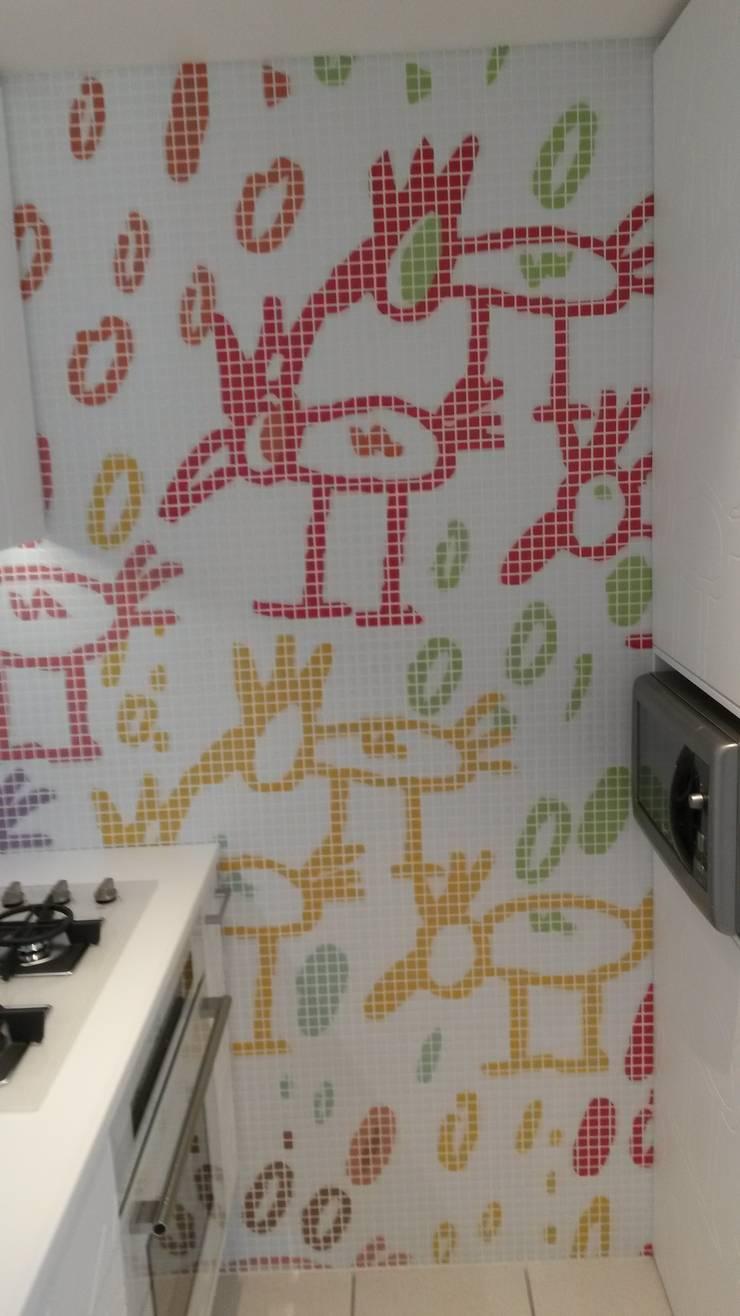 CUCINA: Cucina in stile  di GEMANCO DESIGN SRL, Moderno Piastrelle