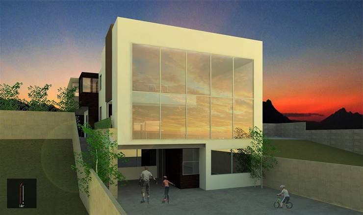 Casa JP: Casas de estilo  por ..arquitecturería taller..