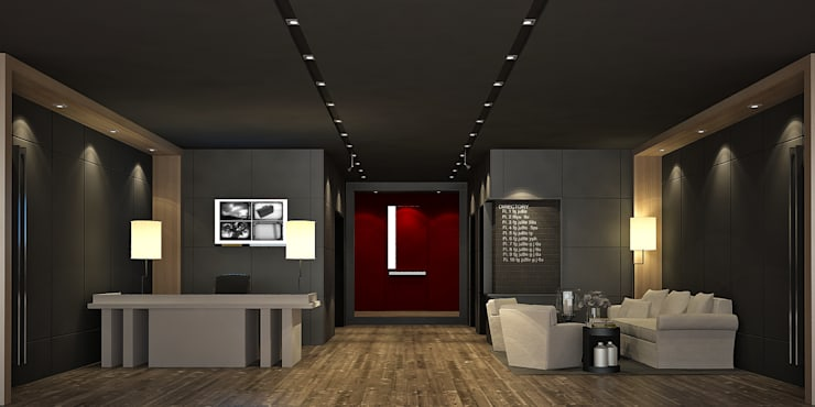 Lobby 1st ( ภาพ 3d Present ):   by Dsire9 Studio