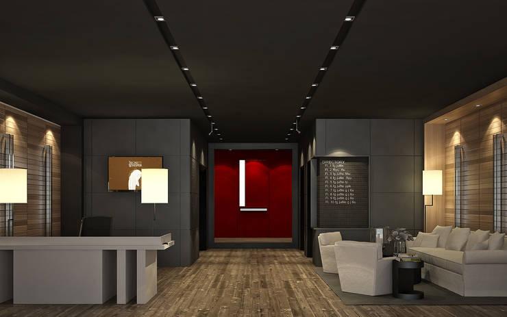 Lobby ( ภาพ 3D Present ):   by Dsire9 Studio
