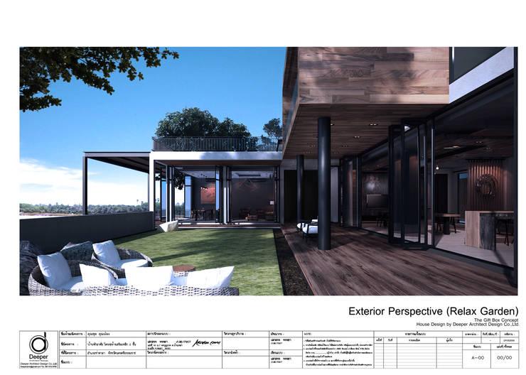 Exterior garden:   by บริษัท ดิปเปอร์ อาร์คิเทค ดีไซน์ จำกัด