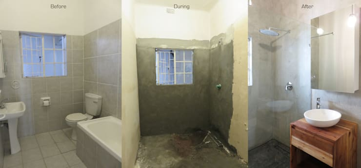 Guest Bathroom Renovation: modern Bathroom by Trait Decor