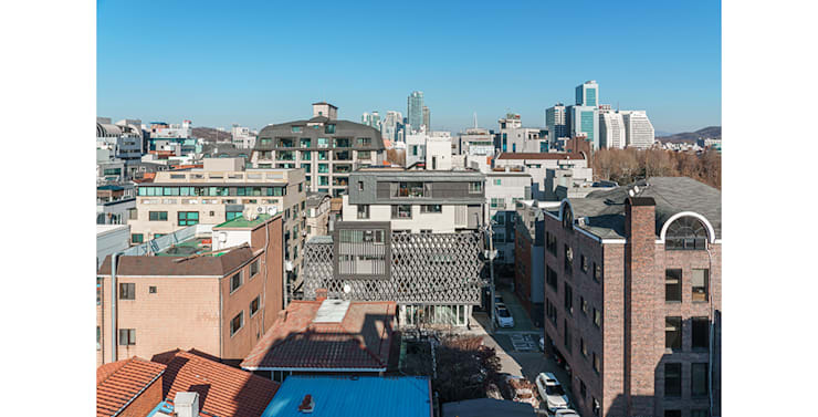 양재동 다세대주택: 제이에이치와이 건축사사무소의  주택