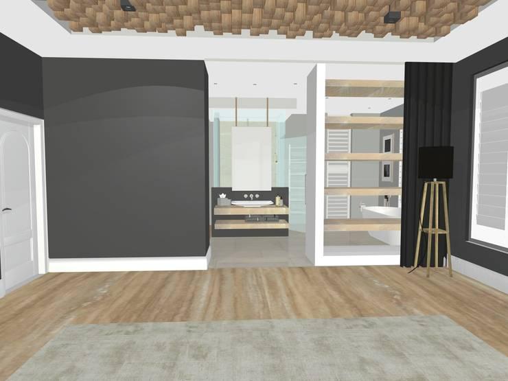 House N:  Bedroom by Kirsty Badenhorst Interiors