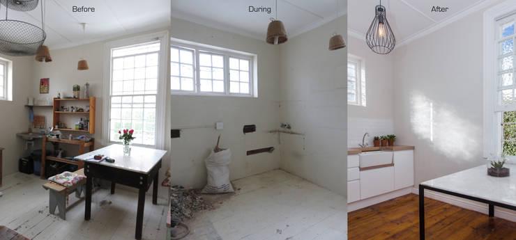 Kitchen Renovation:  Kitchen by Trait Decor