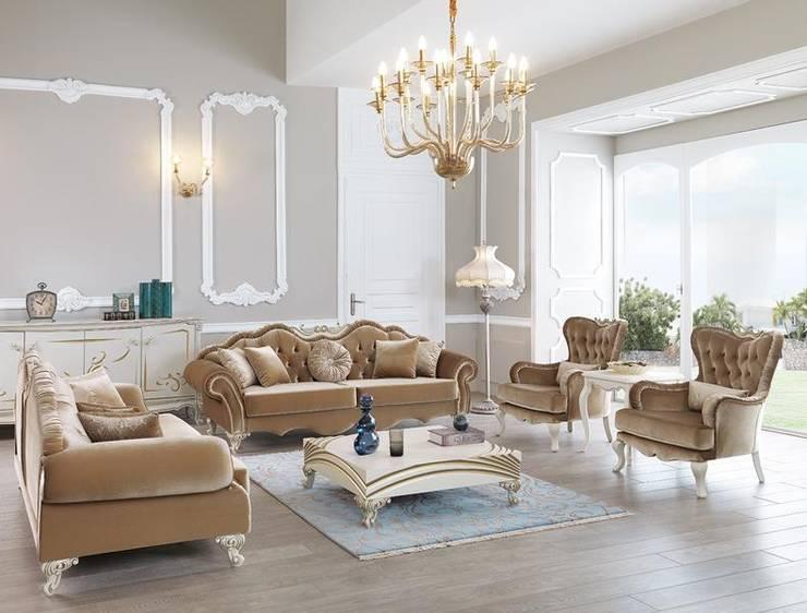 Evinin Ustası – Salonunuza Uygun Yaşam Üniteleri Nasıl Seçilmelidir?: eklektik tarz tarz Oturma Odası