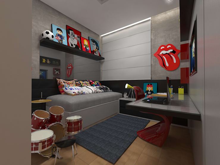 Nursery/kid's room by Impelizieri Arquitetura