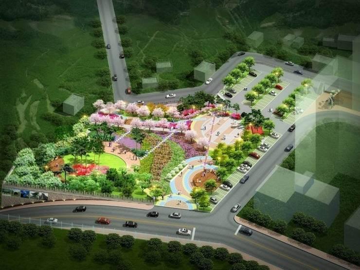 영월덕포 근린공원 : 조경설계 동산의
